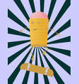 ice creams skateboarding vector image