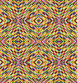 Multicolor kaleidoscope seamless background with vector image