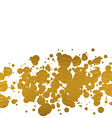 Golden circles vector image