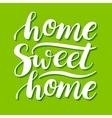 Home Sweet Home conceptual handwritten vector image