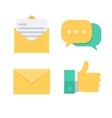 Message symbols vector image