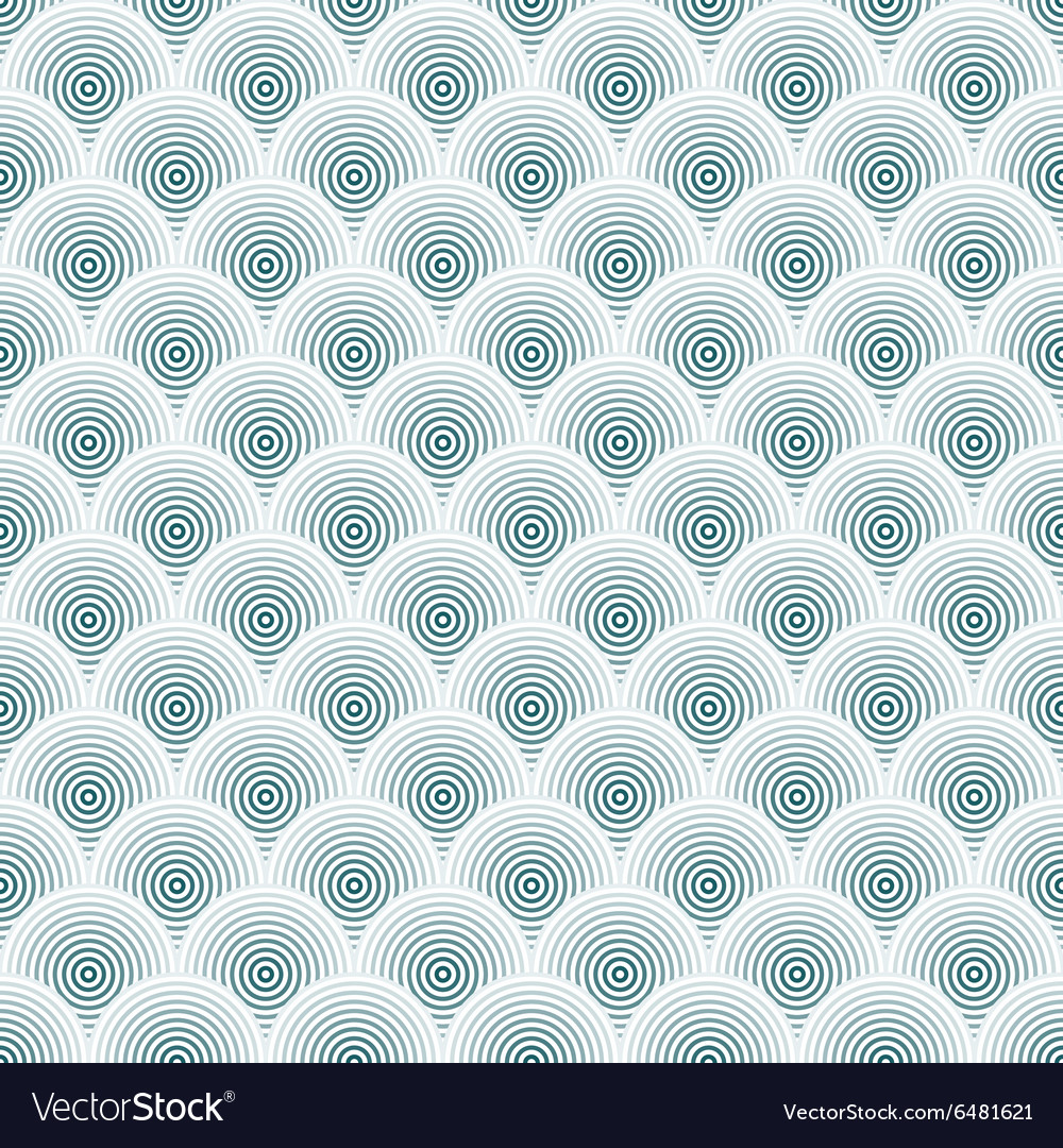 Hidden circles seamless pattern vector