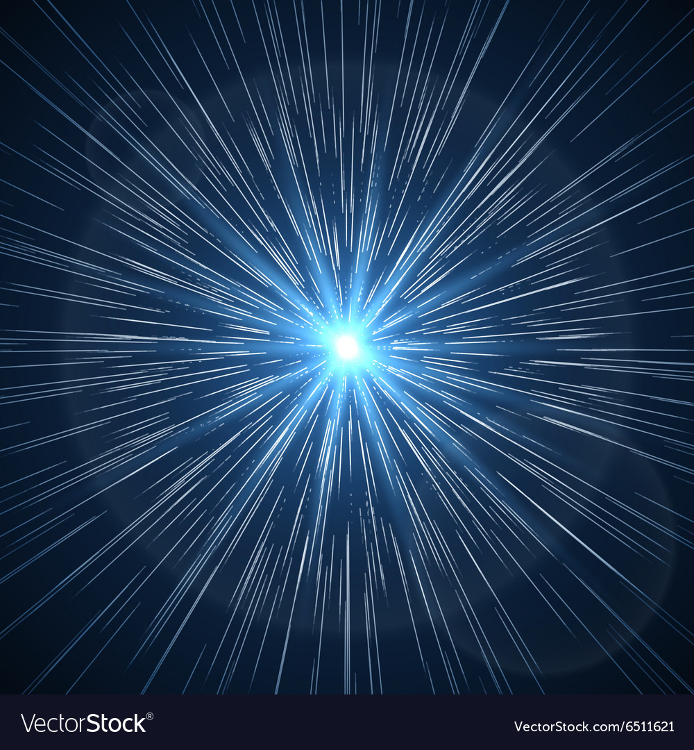 Time warp supernova starburst vector