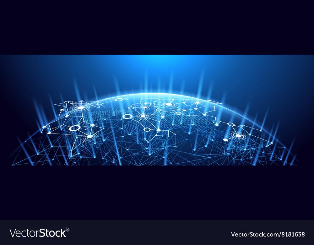 Global network background vector