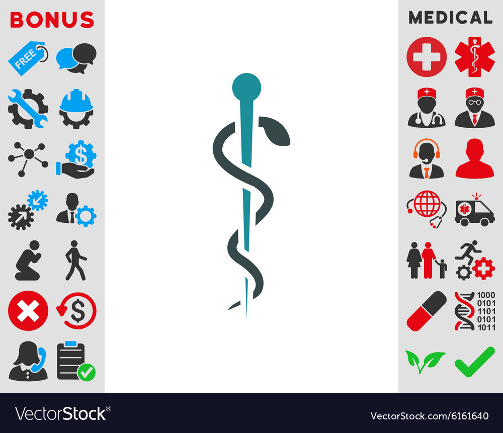Medical needle icon vector