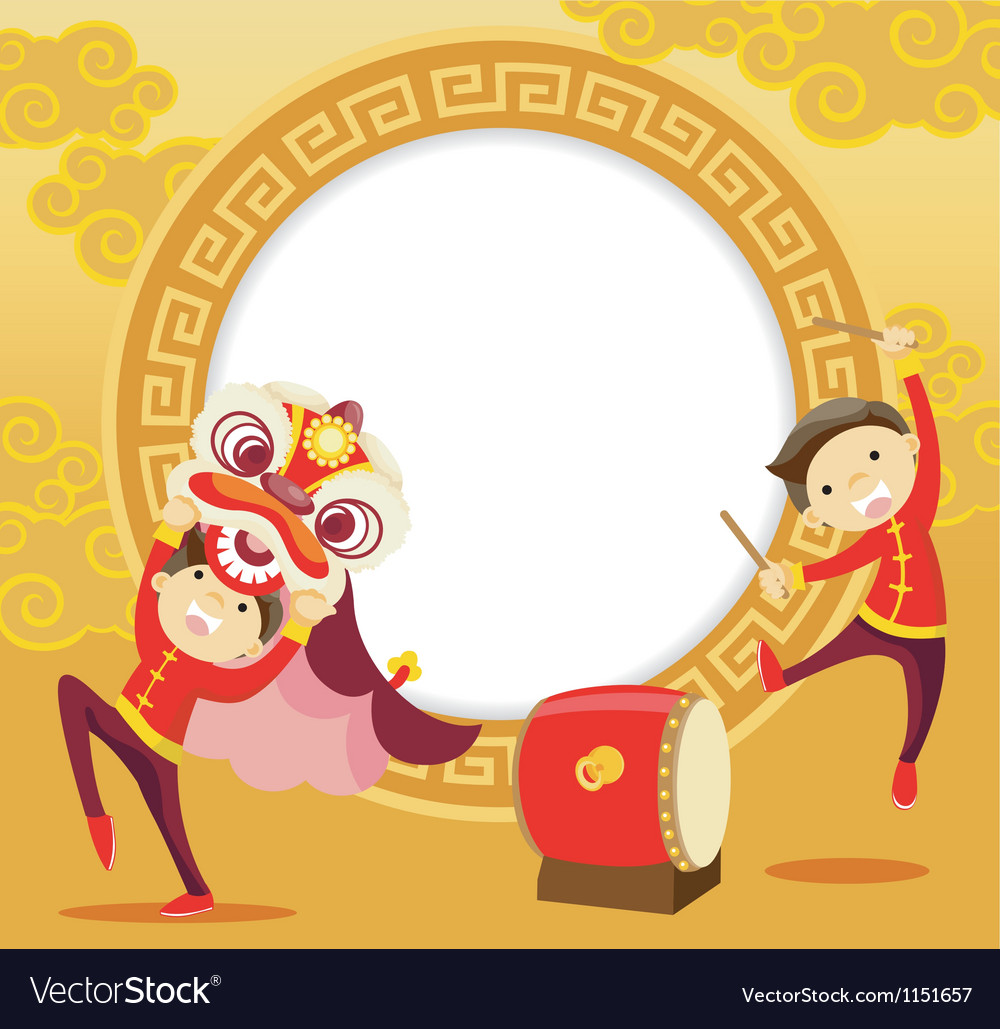 Chinese festival celebrations vector