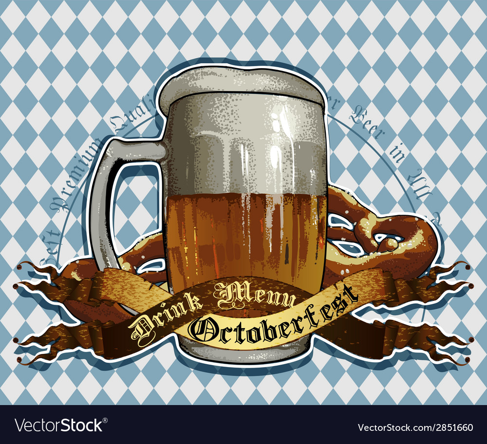 Octoberfest design vector