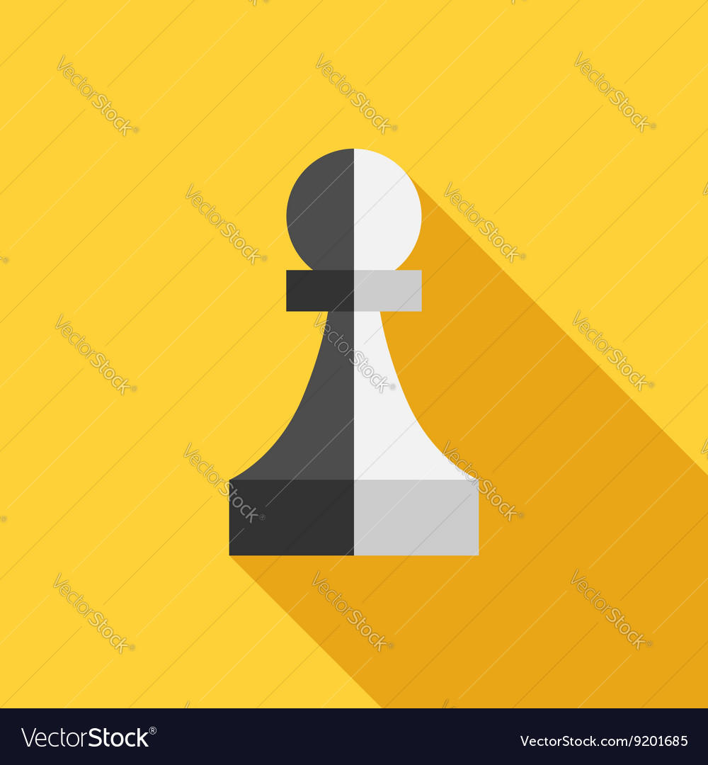 Twofaced traitor pawn vector