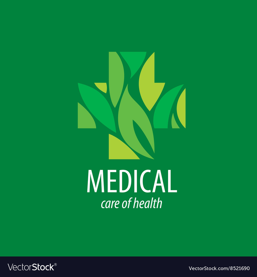 Logo medical vector