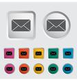 Envelope icon 2 vector image vector image