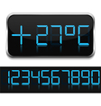 Digital Thermometer vector image vector image