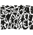 demonstration people - abstract background vector image