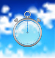 realistic timer vector image