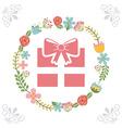 beauty gift vector image