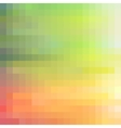 Colorful modern mosaic background vector image