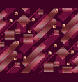 geometry modern style seamless pattern vector image
