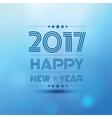 Happy new year 2017 2 vector image