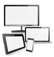 Computer Devices vector image vector image