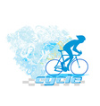 Cycling Grunge Poster vector image vector image