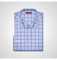 classic plaid shirt vector image