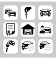 Car dealer vector image