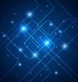 Hi-tech blue abstract vector image