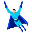 Superhero Flying vector image
