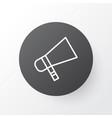 megaphone icon symbol premium quality isolated vector image