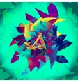 Background Geometric Abstract Shape vector image