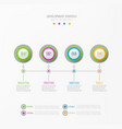 abstract element for business strategy vector image