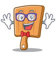 Geek kitchen board character cartoon vector image