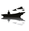 Navy power vector image vector image