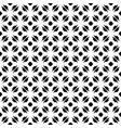 monochrome seamless pattern ornate texture vector image