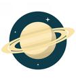 Saturn vector image