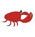 sea food icon vector image