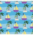 Summer vacation and cruise vector image