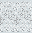 Seamless Pattern Background Curl Decoration vector image