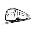 Train symbol vector image