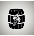 wine icon design vector image
