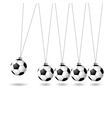 soccer novelty vector image vector image