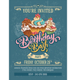 Birthday Bash Party vector image
