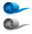 Roll of material vector image