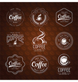 coffee label3 vector image