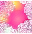 Pink Romantic background for meditation vector image