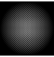Radial gradient light Checkered background vector image