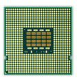 multi core processor vector image vector image