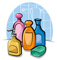 shampoo and soap vector image