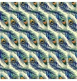 Beautiful pattern with peacock feathers vector image