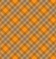 orange fabric pattern geometric background vector image