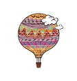 Decorated Balloon vector image vector image